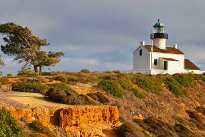 Point Loma Lighthouse, Cabrillo National Park, Visit San Diego