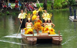 Polynesian Cultural Center, Tahiti