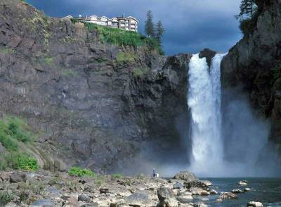 Salish Lodge, Snoqualmie Falls, Visit Seattle