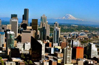 Seattle and Mount Rainier, Visit Seattle