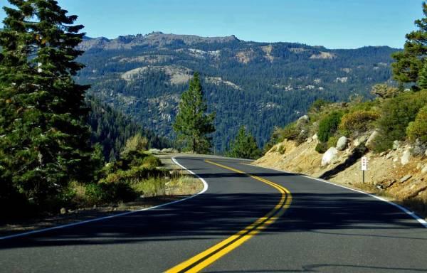 Sonora Pass near Yosemite