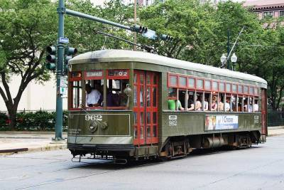 St Charles Streetcar, Visit New Orleans