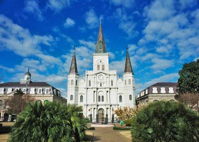 St Louis Cathedral, Visit New Orleans