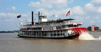 Steamboat Natchez, Visit New Orleans
