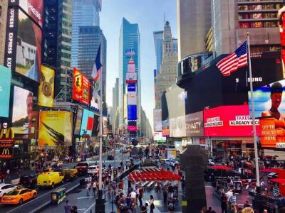 Times Square, Visit New York