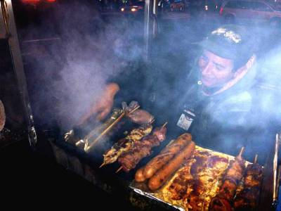 Times Square Street Food, Visit New York