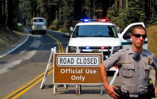 Tioga Pass Closed, Yosemite Rim Fire Visit