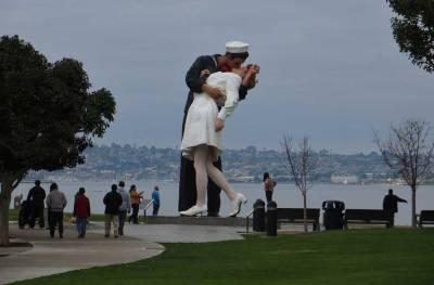 Unconditional Surrender Statue, Visit San Diego Harbor
