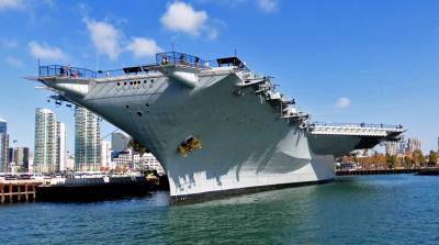 USS Midway, Visit San Diego Harbor