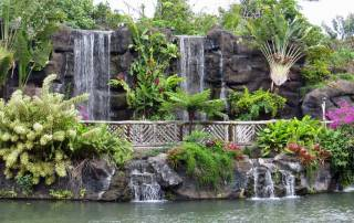 Waterfall, Polynesian Cultural Center