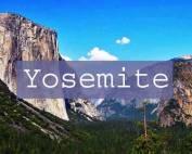Yosemite Title Page