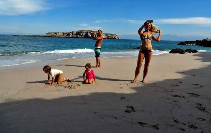 Beach Babe, Marietas Islands Day Trip