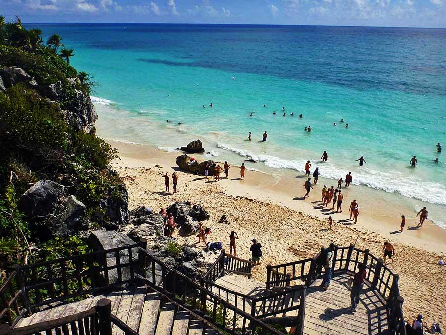 Beach, Tulum Ruins, Xel-Há Tulum Tour, Riviera Maya