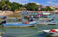 Boats, Punta Mita Harbor, Marietas Islands Day Trip