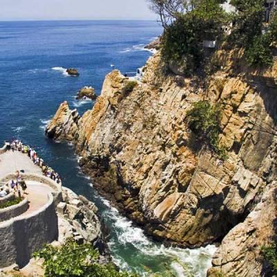 La Quebrada Cliff Diving Viewpoint