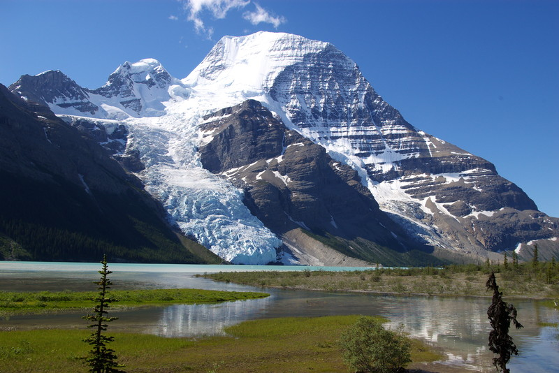 Mount Robson & Berg Glacier