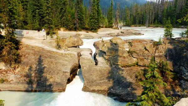 Natural Bridge, Kicking Horse River, Visit Yoho National Park