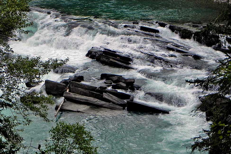 Rearguard Falls, Mount Robson