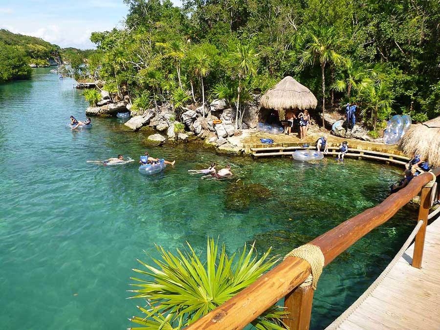 River Tube Float, Xel-Há Tulum Tour, Riviera Maya