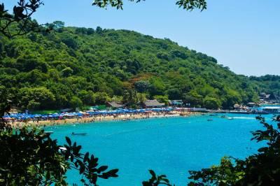 Roqueta Island Beach, Visit Acapulco