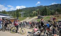Summer Mountain Biking Gondola, Whistler Summer Visit
