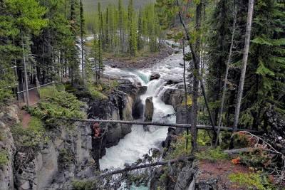 Sunwapta Falls, Visit Jasper National Park