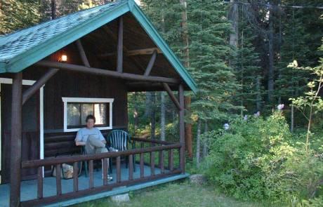 Tim, Kootenay Park Lodge Cabin