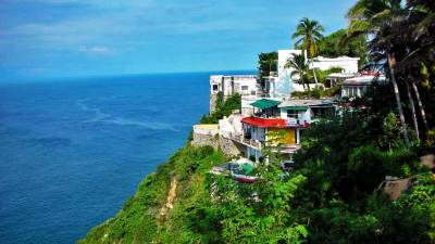 View from Hotel Los Flamingos, Visit Acapulco