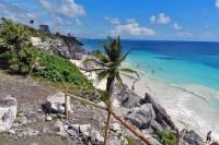 Waterfront, Tulum Ruins, Riviera Maya, Xel-Há Tulu Tour