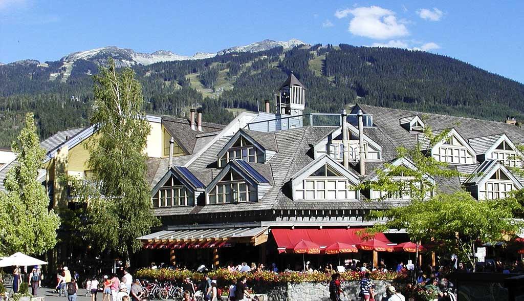 Whistler Village, Whistler Summer Visit
