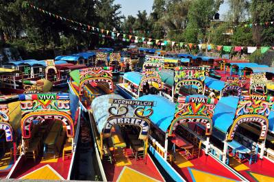 Xochimilco Floating Gardens, Visit Mexico City