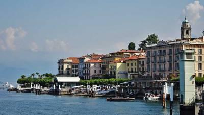 Bellagio Ferry Landing, Lake Como Day Trip