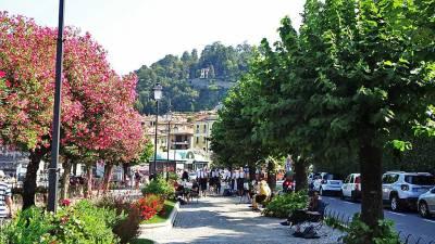 Bellagio Pathway, Lake Como Day Trip
