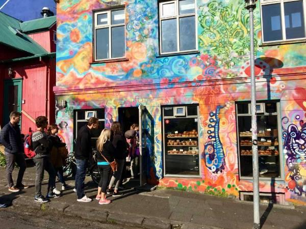 Braud & Co Bakery Line Up, Reykjavik Visit