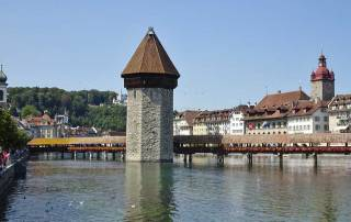 Chapel Bridge, Lucerne, Mount Rigi Day Trip