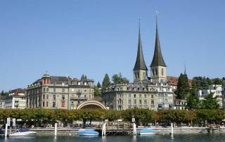 Church of St Leodegar, Lucerne, Mount Rigi Day Trip