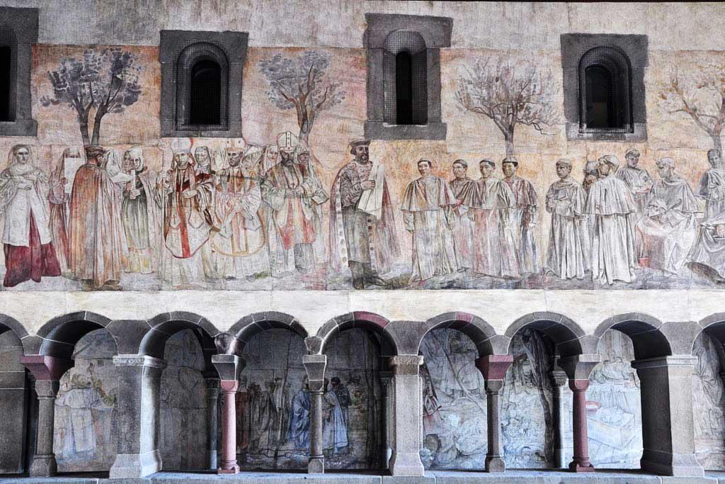 Fresco by Paul Bodmer, Fraumünster, Visit Zurich