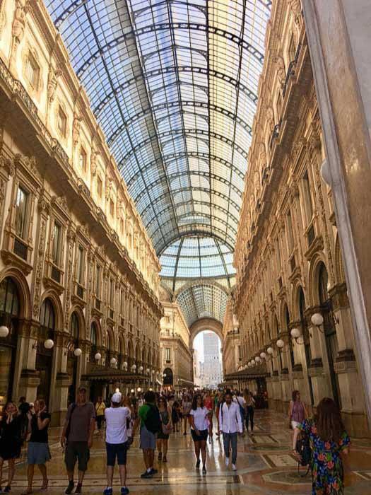 Galleria Vittorio Emanuele II Interior, Milan Visit