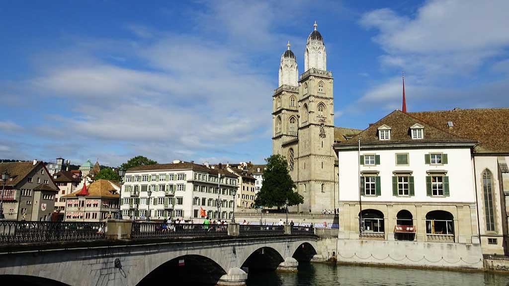 Grossmünster, Zurich Old Town