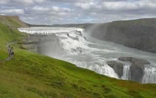 Gullfoss Waterfall, Iceland Golden Circle Tour