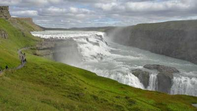 Gullfoss Waterfall, Iceland Golden Circle Tour