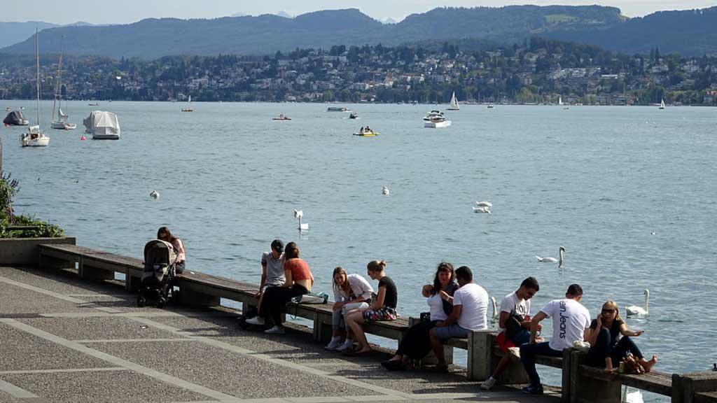 Lake Zurich, Zurich Old Town