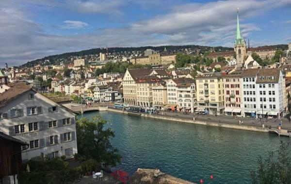 Limmat River, Zurich Old Town