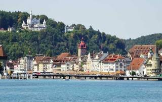 Lucerne from Lake Cruise, Mount Rigi Day Trip