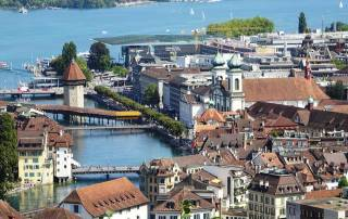 Lucerne Old Town, Mount Rigi Day Trip