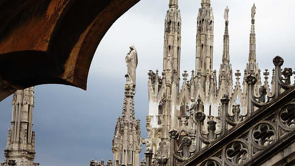 Milan Cathedral Terraces, Milan Visit
