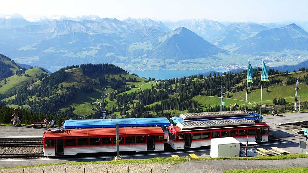Mount Rigi Summit Cog Trains