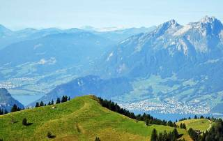 Mount Rigi Valley View