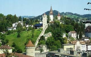 Musegg Wall, Lucerne, Mount Rigi Day Trip