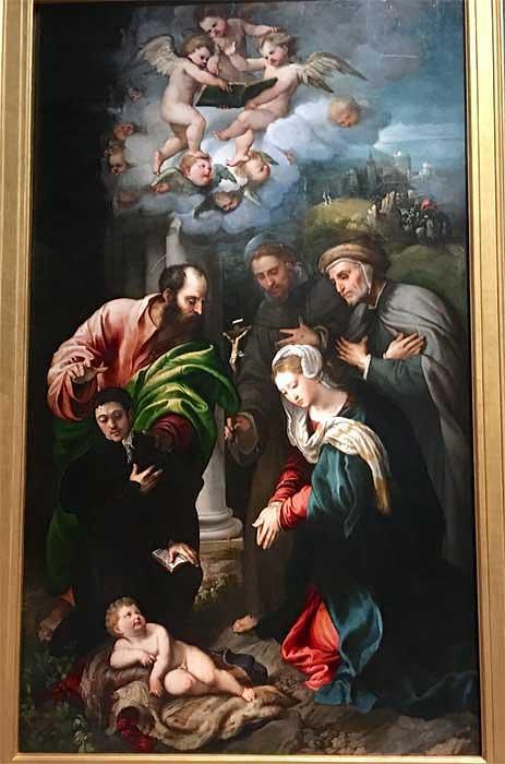 Pinacoteca di Brera Painting, Milan Visit